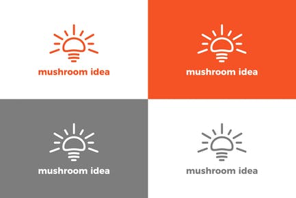 Mushroom - Logo Template