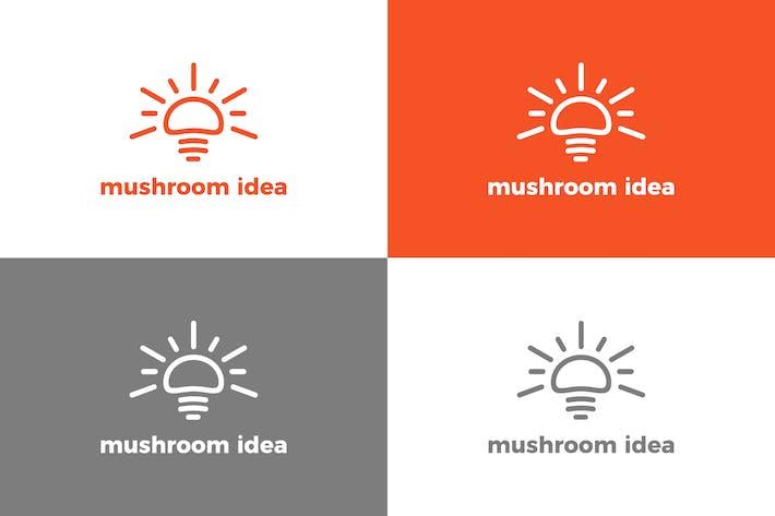 Thumbnail for Mushroom - Logo Template
