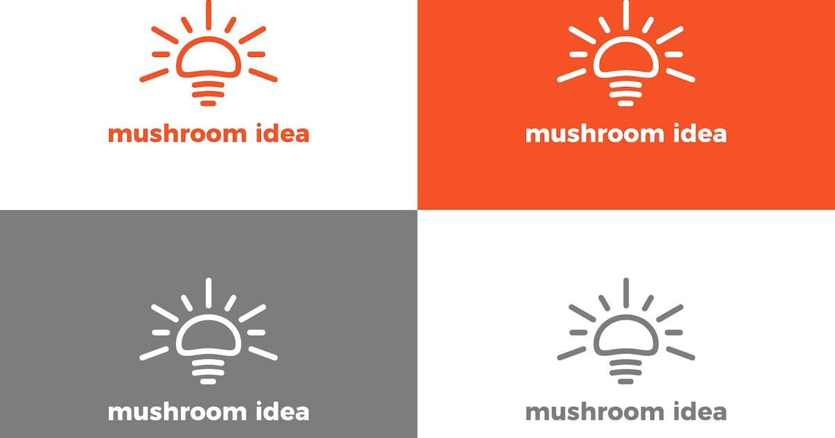 Download Mushroom - Logo Template by deemakdaksinas