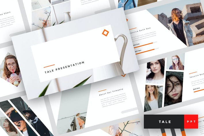 Thumbnail for Tale - Creative PowerPoint Template