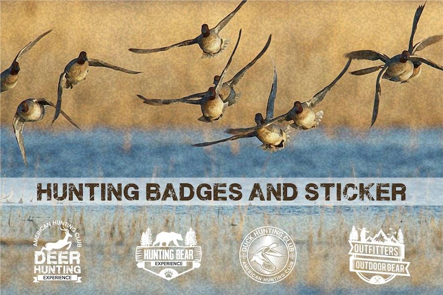 Hunting Badges and Logos