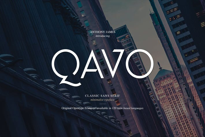 Thumbnail for QAVO FONT