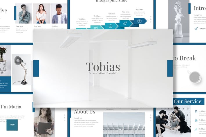 Cover Image For Tobias - Keynote Template