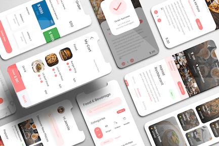 Eatfast UI Kit - Restaurant booking Apps