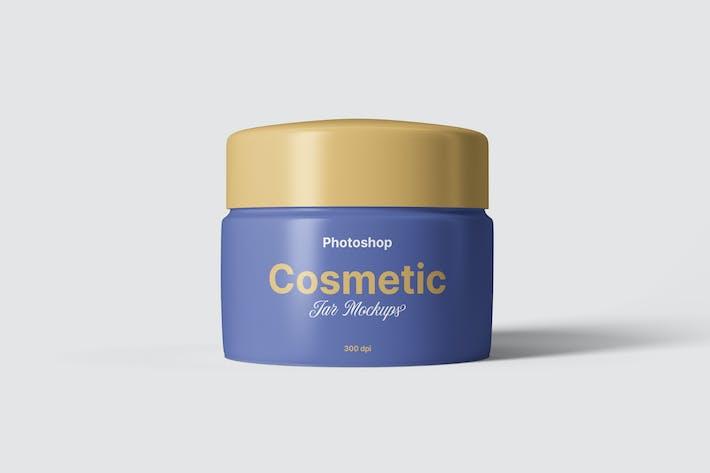 Thumbnail for Kosmetische Gläser Mock-ups