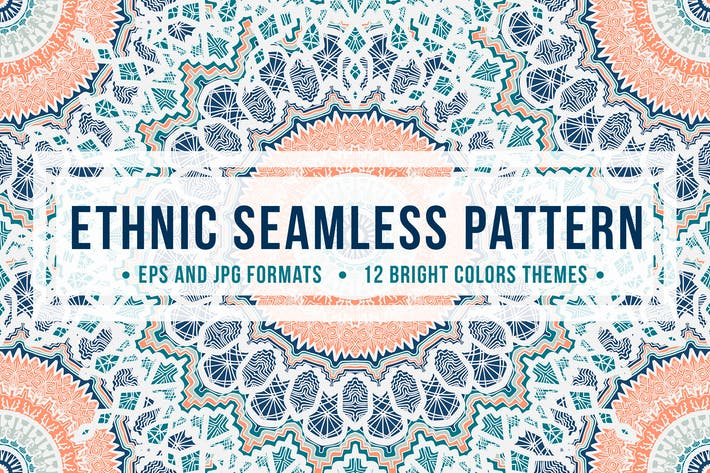 Thumbnail for Ethnic Seamless Pattern