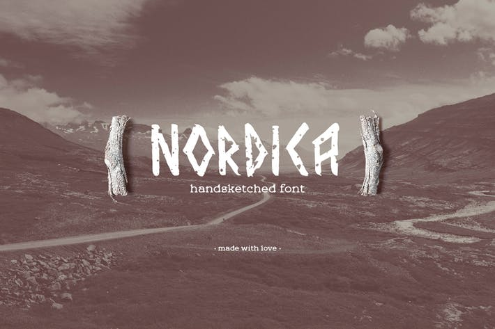 Thumbnail for Nordica Font