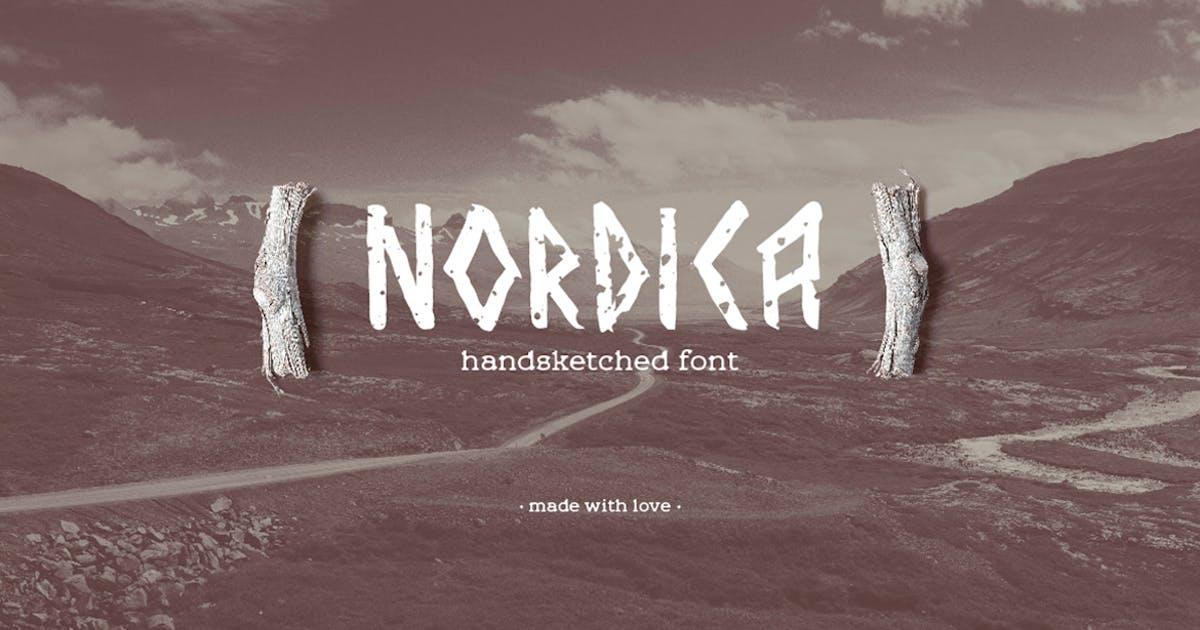 Download Nordica Font by hellokisdottir