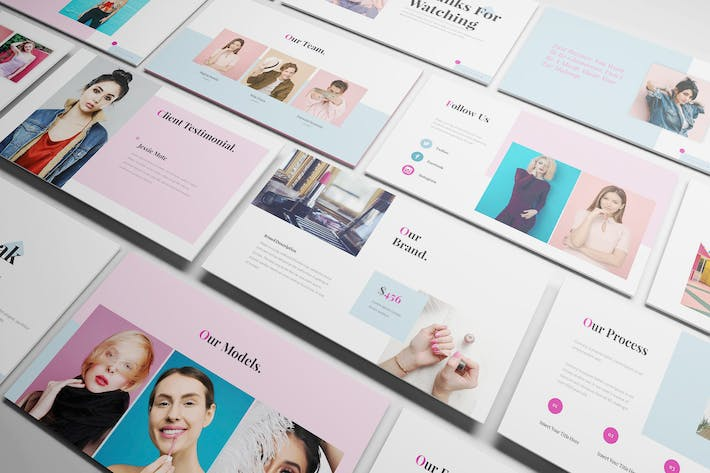 Cosmetic Powerpoint Template
