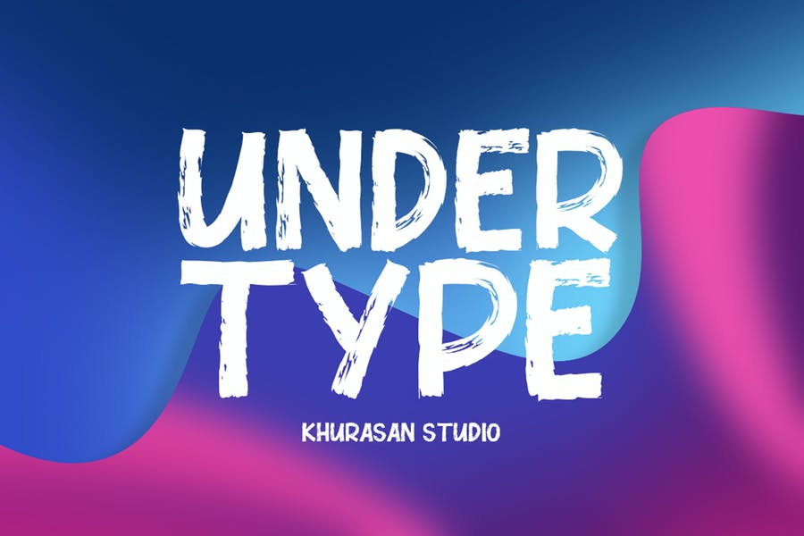 Under Type Font