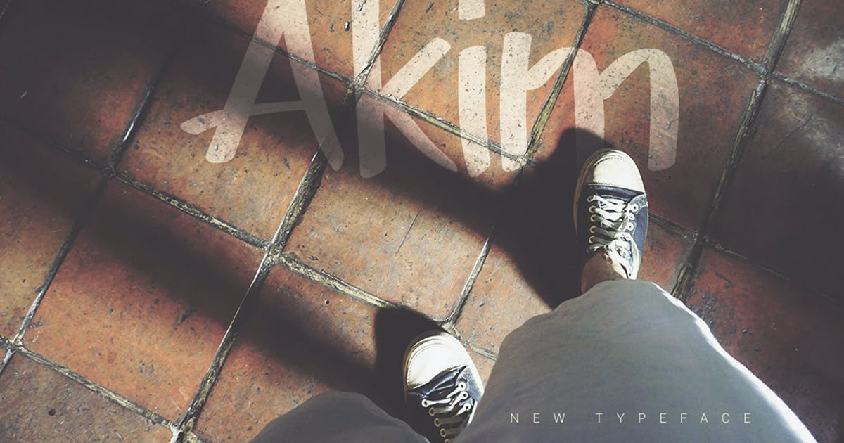 Download Akim Marker Typeface by PereEsquerra