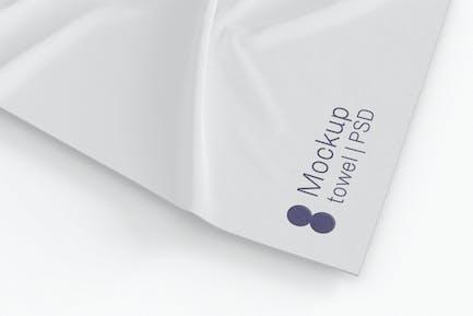Bath Towel Mockup