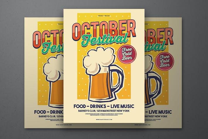 Thumbnail for October Festival Flyer