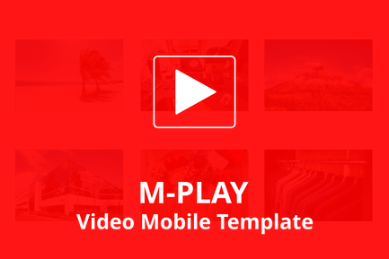 M-PLAY - Video Mobile Template