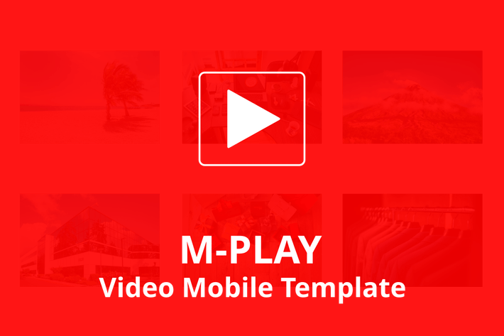 Thumbnail for M-PLAY - Video Mobile Template