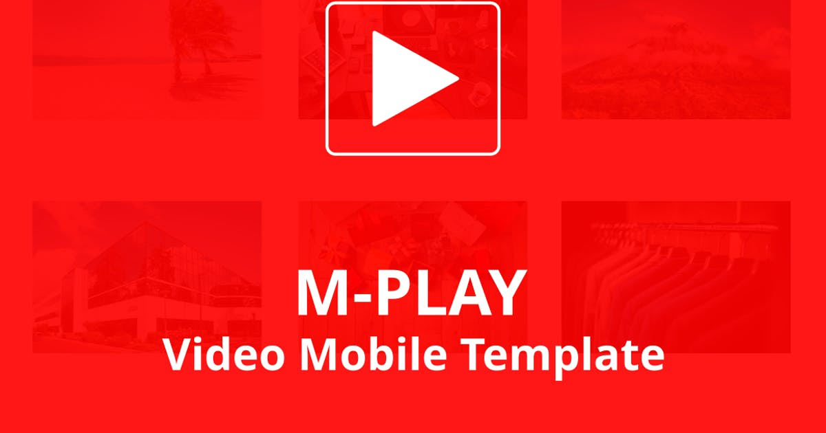 Download M-PLAY - Video Mobile Template by aStylers