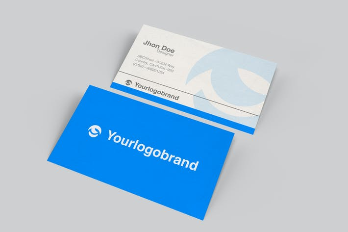 Thumbnail for Simple Business Card Product Mockup