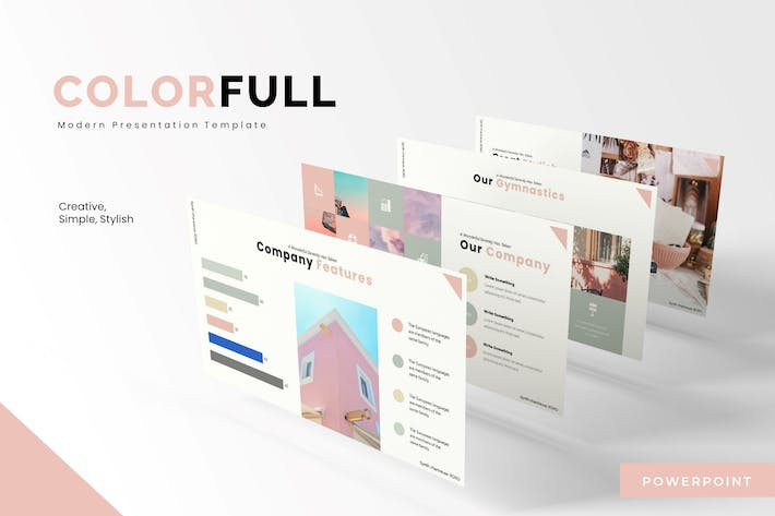Thumbnail for Colorfull  - Powerpoint Template