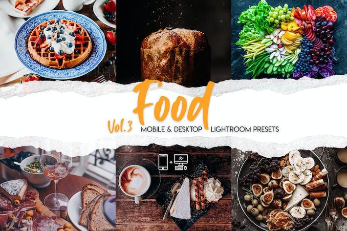 Thumbnail for Food Lightroom Presets Vol. 3