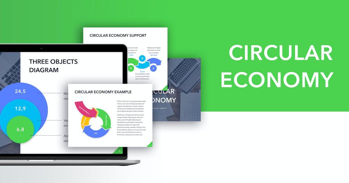Download Circular Economy Keynote Template by Jumsoft