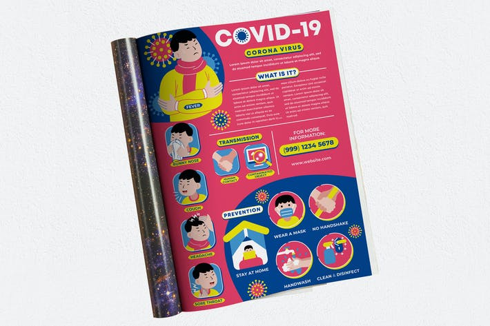 Thumbnail for Covid-19 Pandemic Ads Magazine