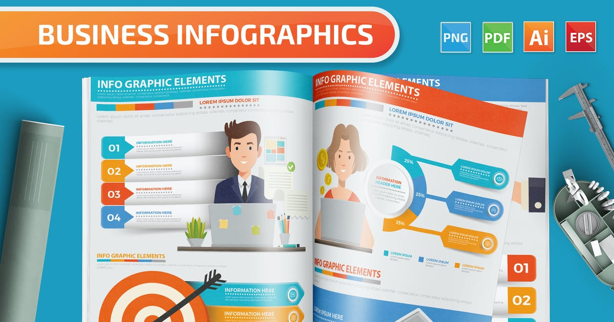 Download Business Infographics by mamanamsai