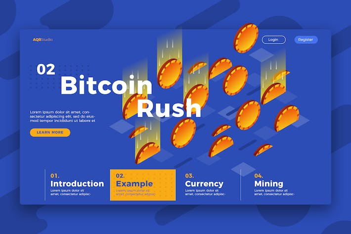 Thumbnail for Bitcoin - Banner & Landing Page