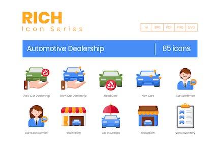 85 Icons für Kfz-Autohäuser - Rich S