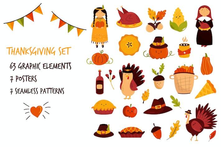 Thumbnail for Thanksgiving Day Big Set.