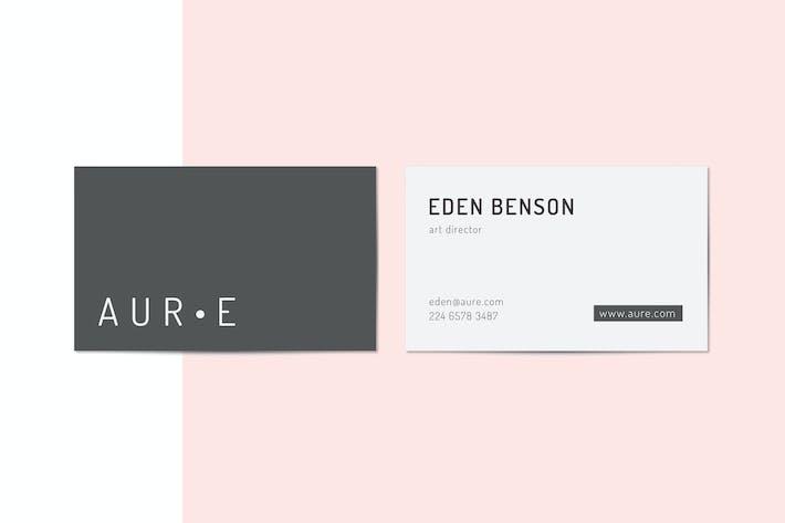 Thumbnail for Aure Business Card Templates