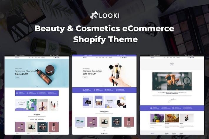 Looki - Красота и косметика Электронная коммерция Shopify Тема