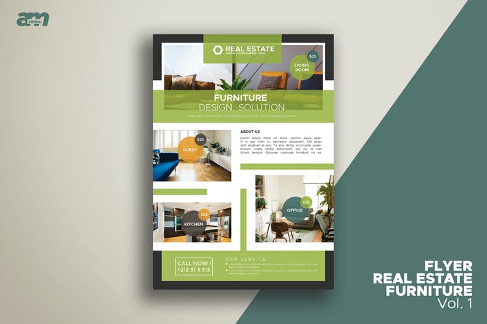 Thumbnail for Flyer Real Estate Furniture Vol.1