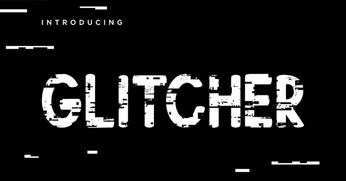 Download Glitcher Sans Serif Display by RahardiCreative