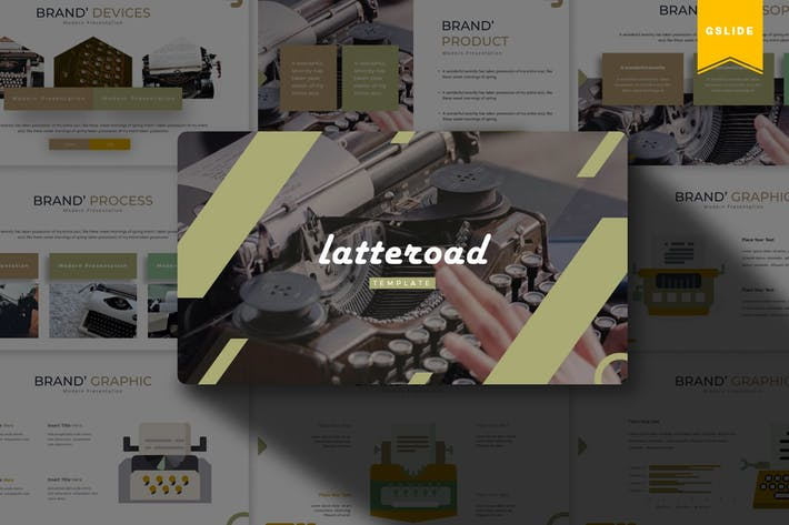 Letteroad | Google Slides Template