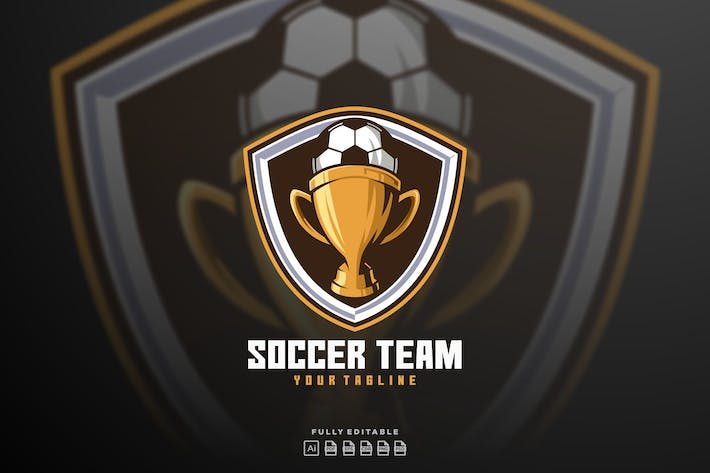 Football Soccer Team Logo