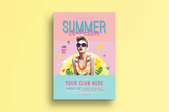 Thumbnail for Summer event flyer