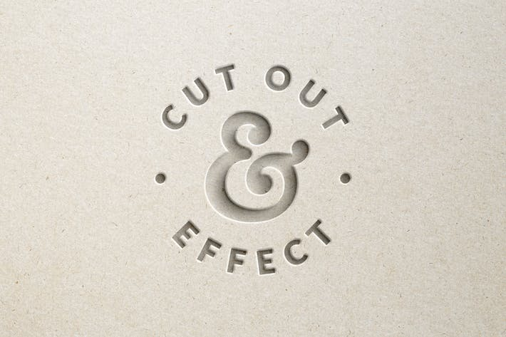 Thumbnail for Paper Cut Out Effect