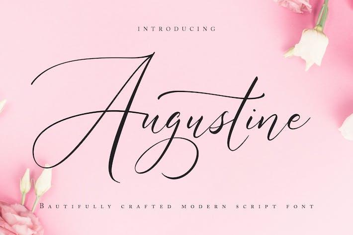 Thumbnail for Augustine | Modern Script Font
