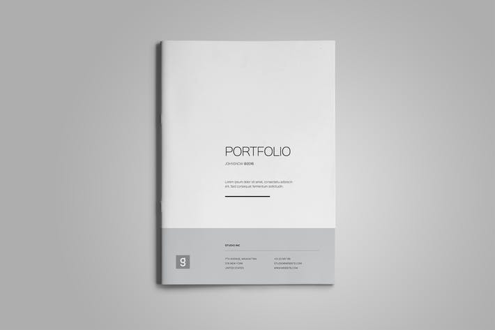 Thumbnail for Clean Portfolio Template