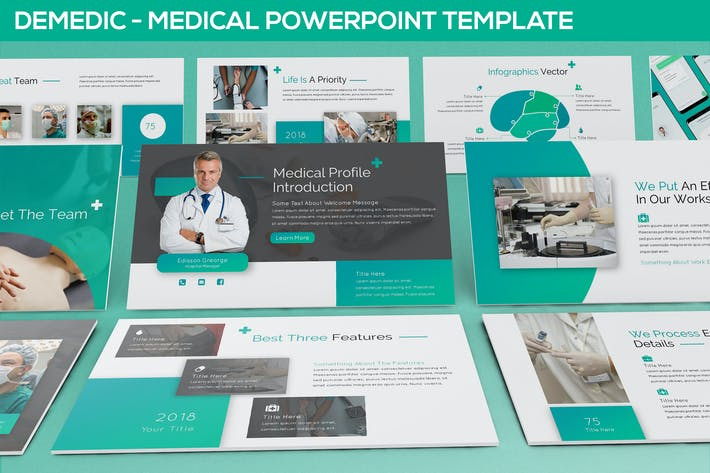 Thumbnail for Demedic - Medical Powerpoint Template
