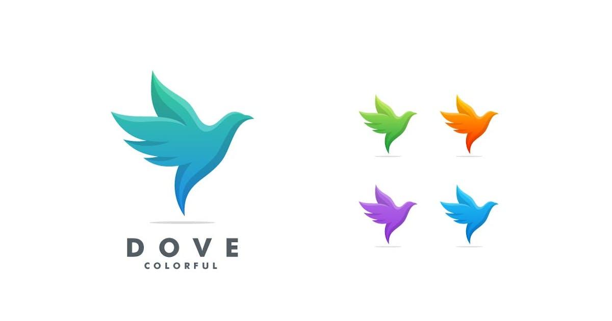 Download Dove Gradient Colorful Logo by ivan_artnivora
