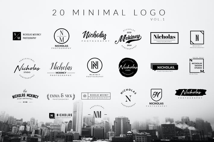 Thumbnail for Minimal Logo Vol.1