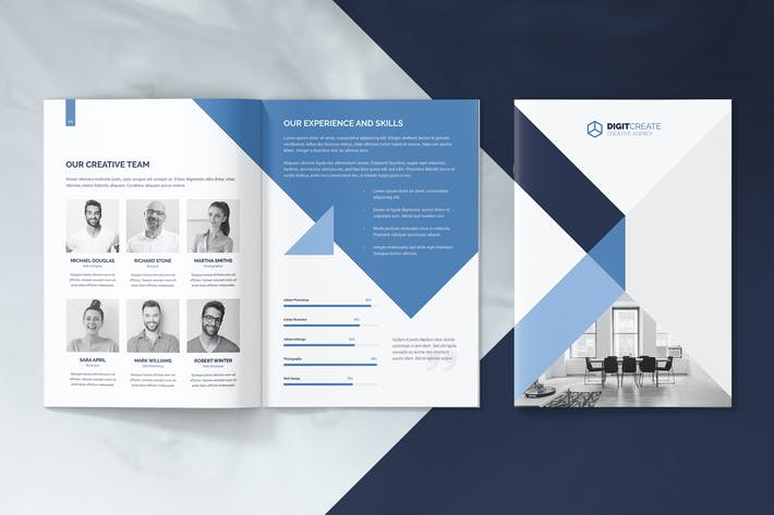 Thumbnail for Mini Brochure – Digital Agency A5