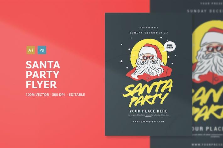 Thumbnail for Santa Party Flyer