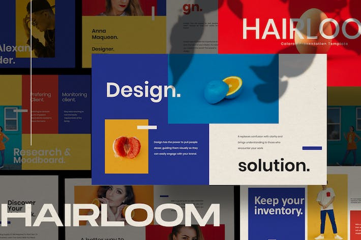 Thumbnail for HAIRLOOM - Powerpoint Business Creative