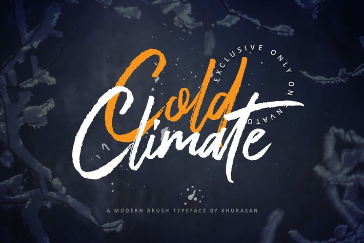 Thumbnail for Cold Climate Font