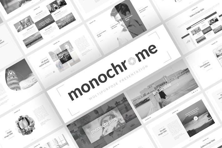 Thumbnail for Монохромная многоцелевая презентация