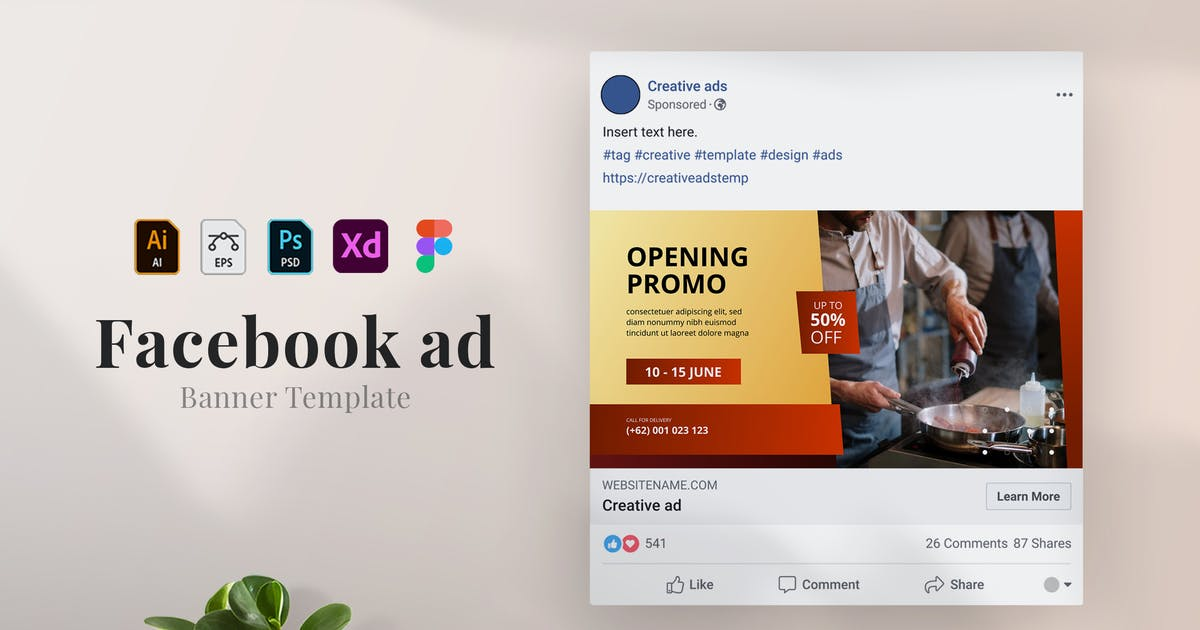 Download Lezat - Facebook ad 03 by mursyiduchy