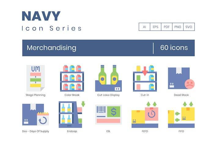 Thumbnail for 60 Merchandising Flat Icons