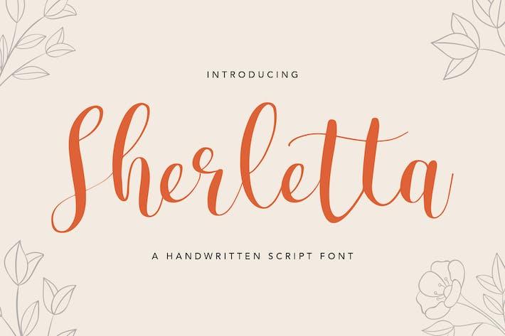 Thumbnail for Sherletta Fuente manuscrita